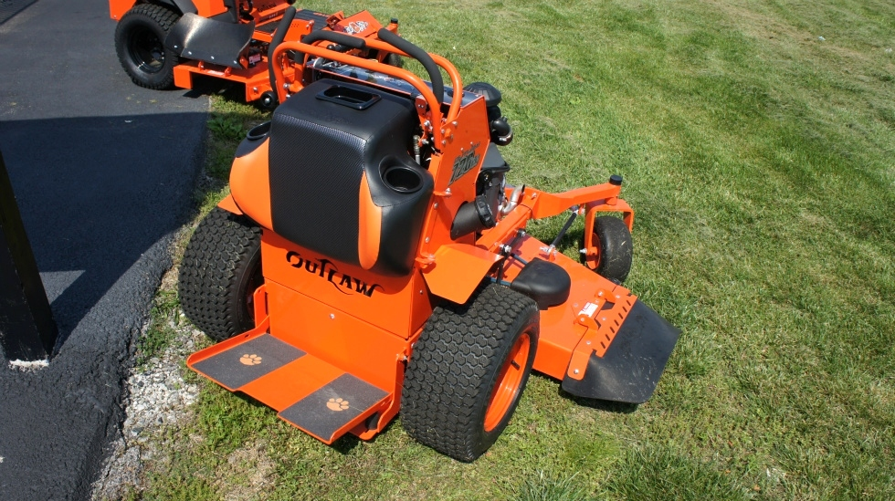 Bad Boy Outlaw Stand On Mower 54